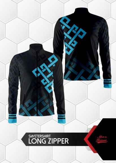 010 sweatshirt long zipper