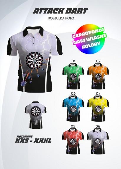 koszulka polo Attack Dart