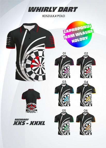 polo shirt Whirly Dart