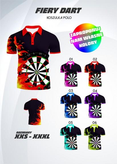 koszulka polo Fiery Dart