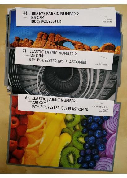 fabric pattern 5pcs