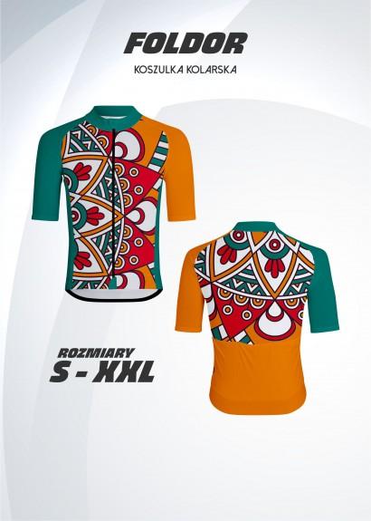 koszulka kolarska Foldor