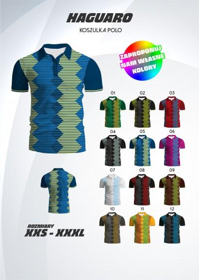 koszulka polo Haguaro