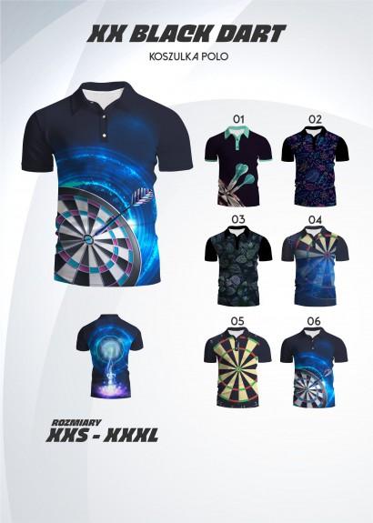 koszulka polo Black Dart