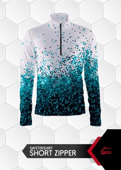 009 sweatshirt short zipper