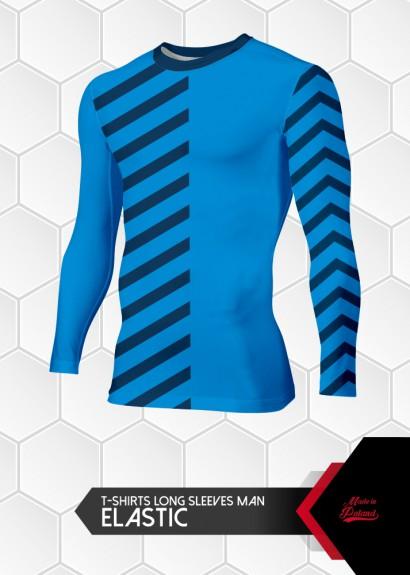 007 koszulka elastic długi...