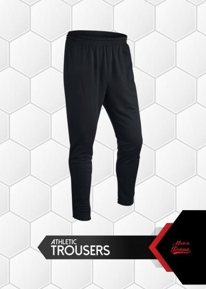 012 spodnie dresowe Evo czarne